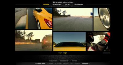 Genesis Coupe Website